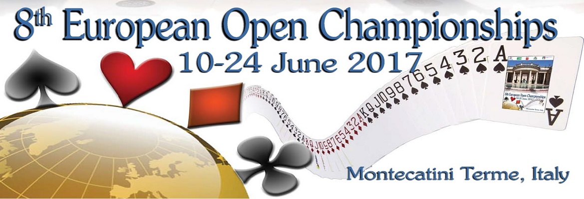 8th European Open Bridge Championships
