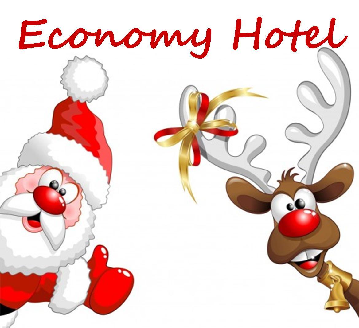 Economy Hotel Babbo Natale e renna | CITTA' DEL NATALE 2018 Montecatini Eventi